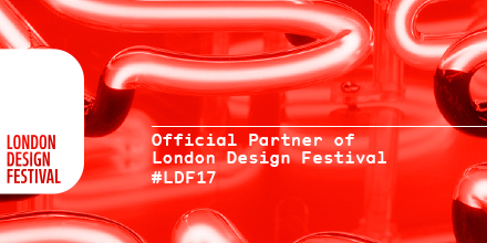 Official Partner of London Design Festival 2017