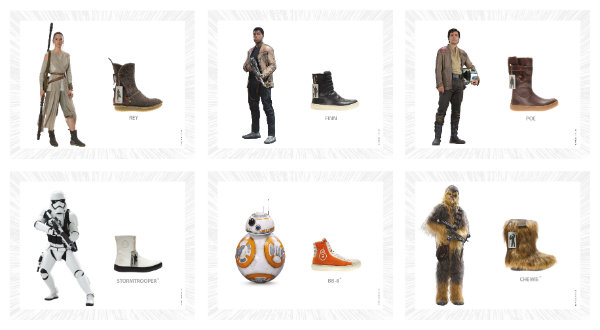 Exhibit: Launching Po-Zu sustainable shoe collection with Star Wars™