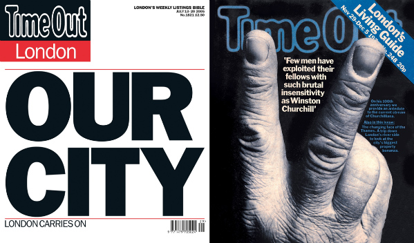 Time Out 50: 50 Years, 50 Covers - Wednesday 12 September
