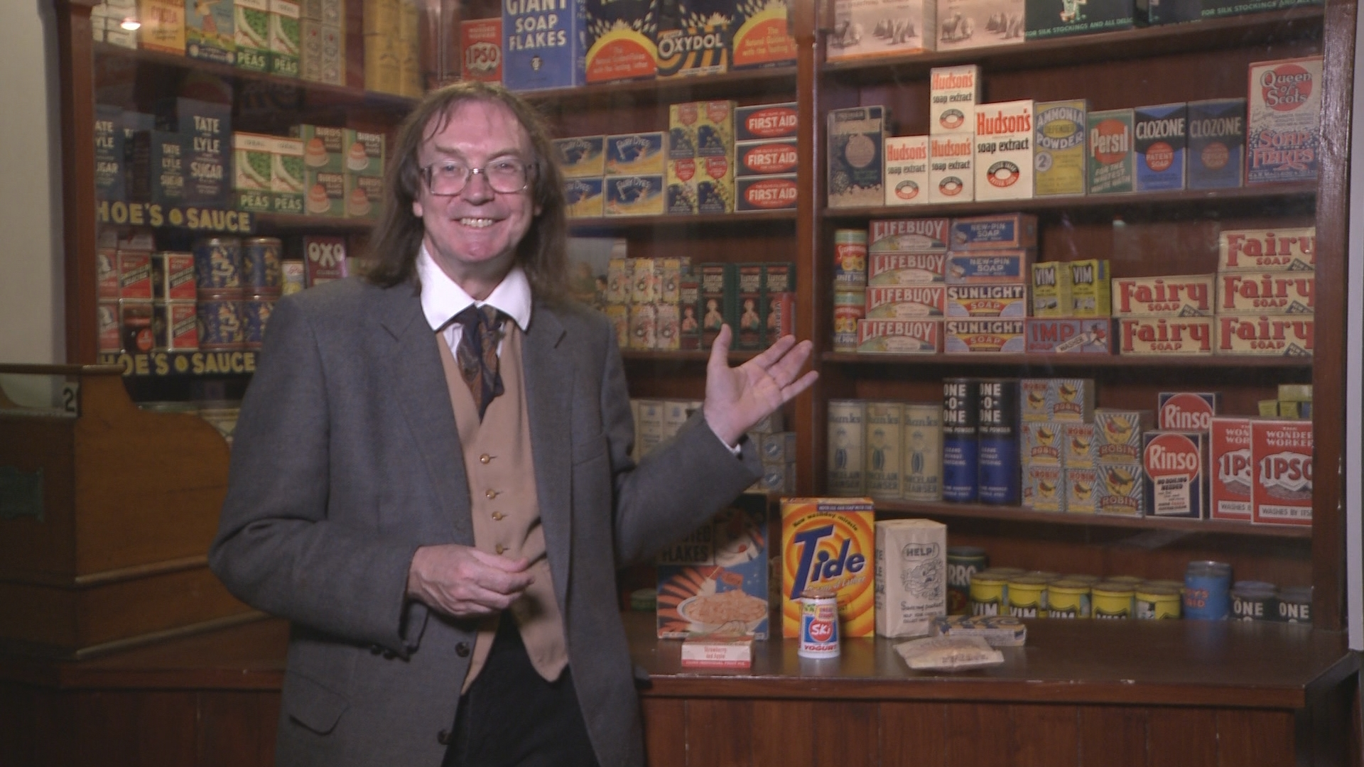 Museum of Brands stars in 'Professor Hutton's Curiosities'