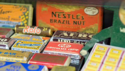 chocolate brands from 1930s